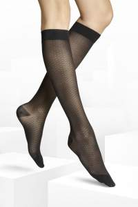 Knee-High Pixie black S Length L1 women