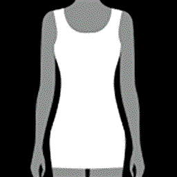 Shape dress that is invisible under clothes
