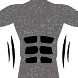Six-pack design fits perfectly under shirts