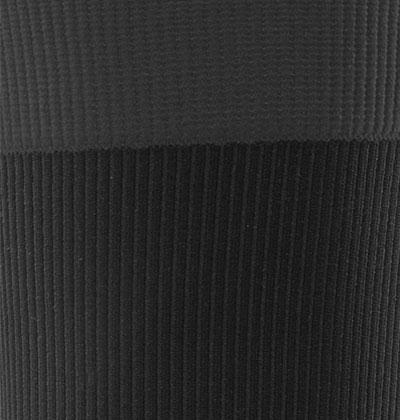 Color Wave Socks Black Graphite detail zuschnitt neu