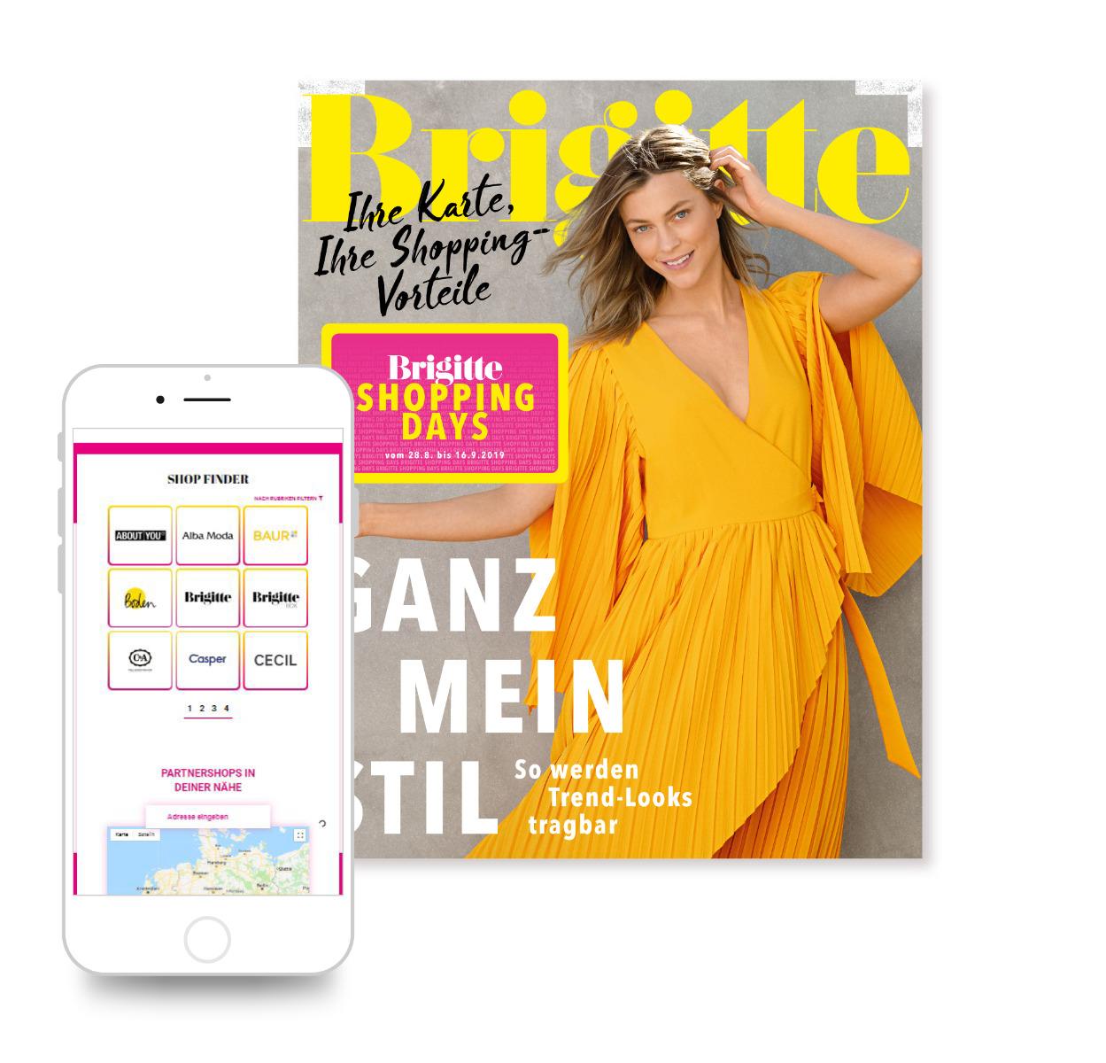 item mg smartphone ansicht brigitte shopping days shopfinder neu