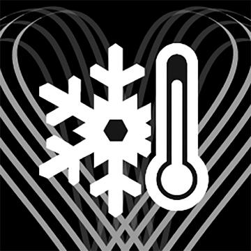Dieses Termometer steht für die ITEM m6 Legwear mit wärmenden Luxus-Komfort – Winterdesign made in Germany.