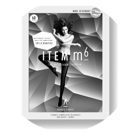 The stylish packaging of the ITEM m6 Beauty Tights.