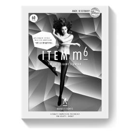 Die stylische Verpackung einer ITEM m6 Beauty Tights.